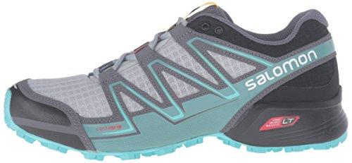 Trail Salomon Zapatillas L38310700 Black De Running Mujer Blue Gris Bubble light Para Onix xqrrwpC