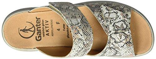 Ganter Aktiv Fabia Sandale-f - Mules Mujer Mehrfarbig (stone)