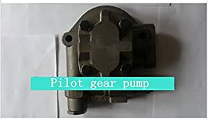 GOWE Pilot Gear Pump for 708-25-01064 Pilot Gear Pump for Komatsu Excavator PC200-3, Construction machinery digger replacement spare parts