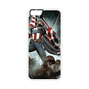 iPhone 6 Plus 5.5 Inch Phone Case The Avengers Captain America Cover Personalized Cell Phone Cases NGA962470
