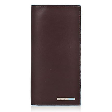 8c706df04e Piquadro Porta documenti da viaggio con porta carte di credito Mogano Blue  Square PP3248B2/MO