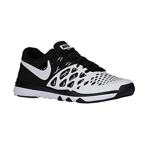 Nike Mens Train Speed 4 Training Shoe, Blanco/Negro, 42.5 D(M) EU/8 D(M) UK
