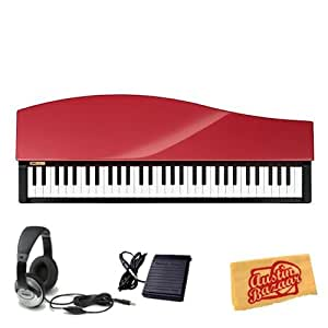 korg micropiano compact digital piano bundle with sustain pedal headphones and. Black Bedroom Furniture Sets. Home Design Ideas