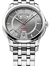 Pontos Day/Date Automatic Watch, Stainless steel, Grey