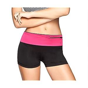 Terra Outdoor Running Fuel Belt & Fitness Workout Belt for iphone 7 6 6s 5 SE - Best Exercise Waist Pack - Sports Travel Money Belt - Fanny Pack Runner Safety Reflective Waist Belt with Pockets