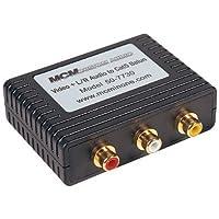 MCM Custom Audio 50-7730 L/R Audio/Video Balun