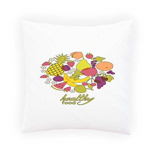 Healthy Food Vegetable Decorative Pillow , Cushion cover with Insert or Without r131p Vegetable Insert Cover