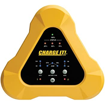 CHARGE IT! 4506 6/12V (6/2) Amp Smart Charger