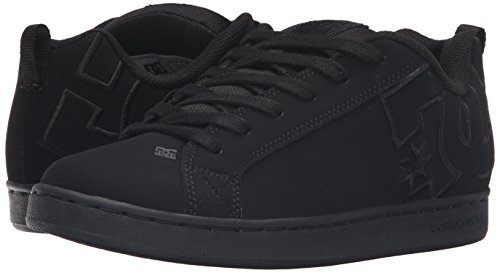 Pictures of DC Kids Youth Court Graffik Skate Shoes Black/Black/Black 4