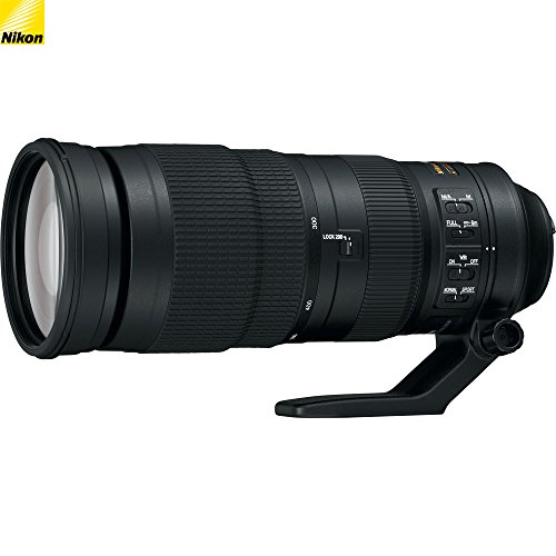Nikon 200-500mm f/5.6E ED VR AF-S NIKKOR Zoom Lens Nikon Digital SLR Cameras – (Renewed)