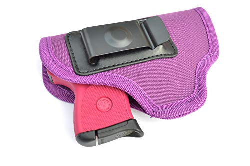 AcidTactical Inside The Waistband IWB Concealed Carry Holster for Glock Walther Ruger Sig Purple