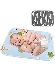 LEADSTAR Babyskötmatta, bärbar skötdyna skötstation vattentät vikbar baby skötdyna skötstation för på resan, linda blöjkudde när du reser, 2 stycken