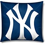 New York Yankees 15 Inch Applique Pillow