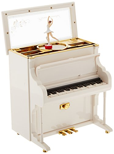 MusicBox Kingdom Piano Decorative Box (Sonata Box Music Moonlight)