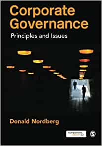 corporate governance and ethical issues Make european standards a worldwide reference for ethical corporate governance  encompasses issues of board composition and structure, the board's remit and.