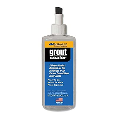 Miracle Sealants GRT SLR 6-Ounce Grout Sealer, 6-Ounce