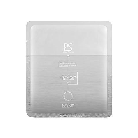 [Reskin Solution] Hydra Facial Gel Mask 4pcs Pack (0.70 oz. 4 / 20 g 4 ea) - Hydra Intense Hydrating Gel Mask