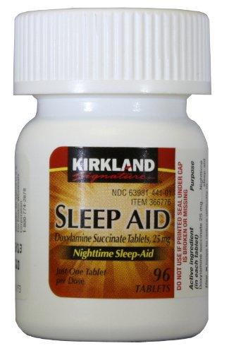 Kirkland Signature sommeil nocturne d'aide - 96 Comprimés