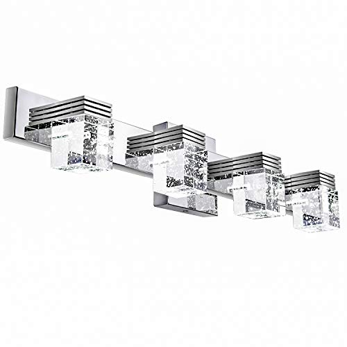 Lightess Bathroom Vanity Lights 4-Light 24in Long LED Bath Wall Sconce Over - Mirrors Bathroom Splash Over