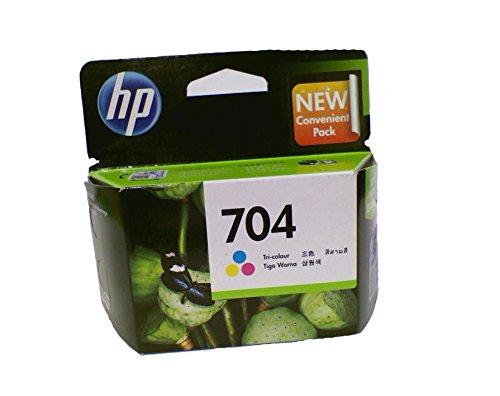 HP 704 Tricolour Cartridge