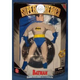 DC Super Heroes Silver Age Batman with removeable Cowl ()