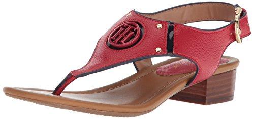 Kissi Sandal Heeled Women''s Red Hilfiger navy Tommy wqEpSH0