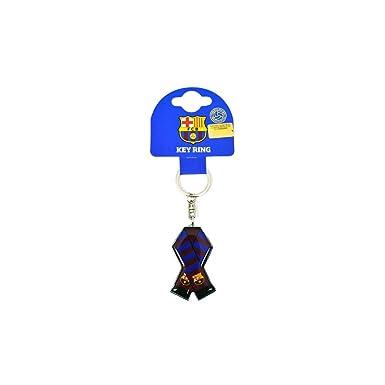 FCB FC Barcelona - Llavero metálico diseño de bufanda ...