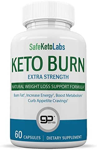 Keto Pills - Burn Fat Fast & Lose Unwanted Pounds - Weight Loss Supplements for Women & Men - Appetite Suppressant - Ketogenic Formula with BHB - 60 Capsule