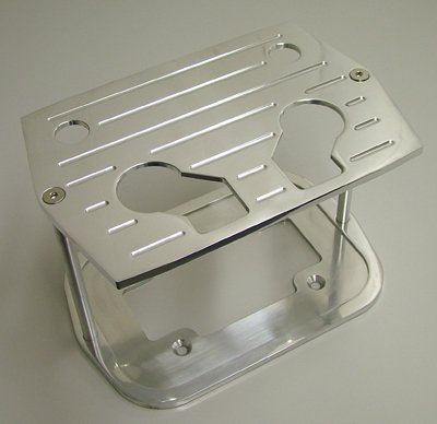 Speed 6323 Billet Aluminum Optima Battery Tray Hold Down by Speed Unlimited