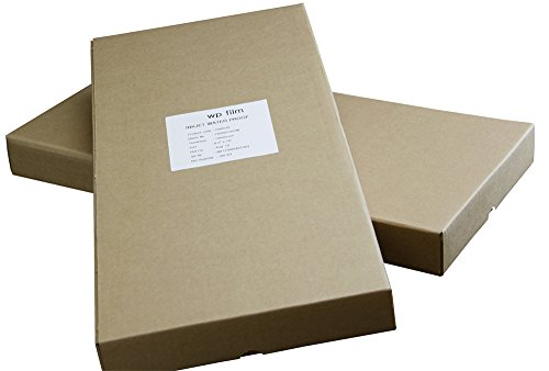 (13 x 19 Gloss Waterproof Inkjet Film, 4mil, 100 Sheets)