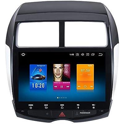 Dasaita 10 2  Android 9 0 Din Car Radio RAM 32G ROM for Mitsubishi ASX 2010 2011 2012 Peugeot 4008 Citroen Aircross Bluetooth Car Stereo Sat Nav Support GPS WiFi 3G 4G USB Carplay FM AM