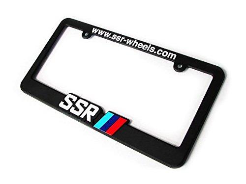 SSR Wheels License Plate Frame