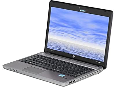 "HP ProBook 4440S 14"" HD Notebook High Performance Business Laptop, Intel i5-3210M up to 3.1GHz, 8GB RAM, 500GB HDD, USB 3.0, WiFi, Webcam, HDMI, VGA, Windows 10 Pro 64 Bit (Certified Refurbished)"