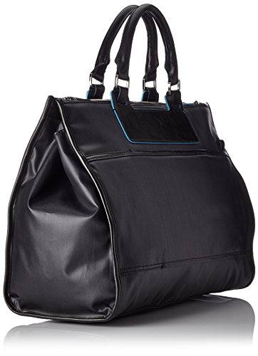 Piquadro Business Tote with Removable Notebook and iPad Mini Organizer Panel, Black, One Size by Piquadro (Image #1)