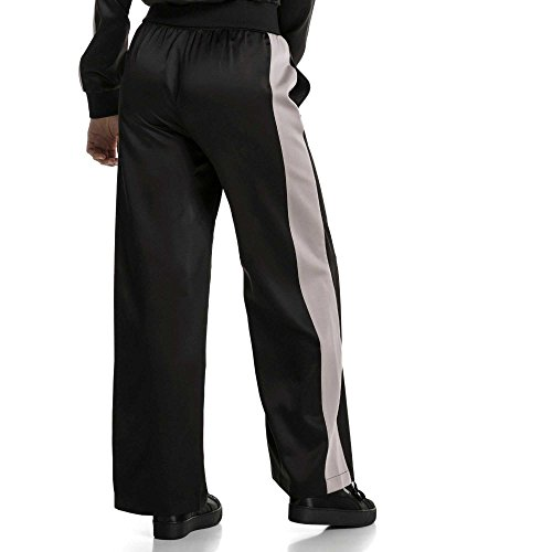 Puma Pantalone Sportivo En Pointe Satin T7 Donna Nero 57549401-BLACK