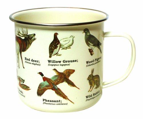 Gift Republic GR270072 Wild Animals Dishwasher Safe Enamel Mug by Gift Republic