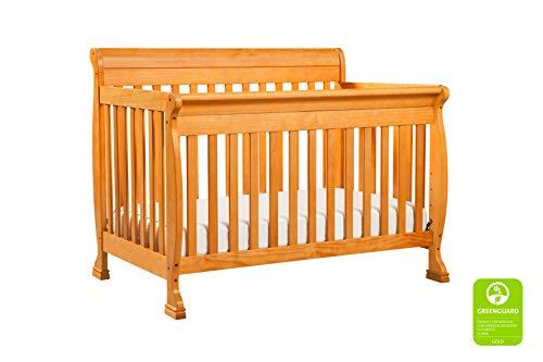 DaVinci Kalani 4-in-1 Convertible Crib, Honey Oak ()