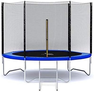 Trampolin Gartentrampolin mit Netz Leiter 396cm