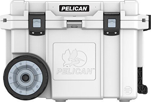 Pelican Elite 45 Quart Wheeled Cooler (White) (Ice Elite)
