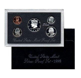 1998 S United States Mint Silver Proof Set (United States Mint Proof Set 1992)