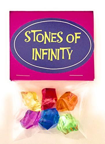 (Infinity Gauntlet Replica Stones Gems Set Perfect for Cosplay)