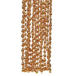 Orange Football Bead Necklaces (1 dozen) - Bulk [Toy] (Football Mardi Gras Beads)