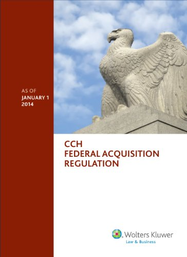 Federal Acquisition Regulation (FAR) as of January 1, 2014