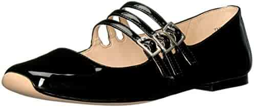 Nine West Women's Zeno Synthetic Ballet Flat