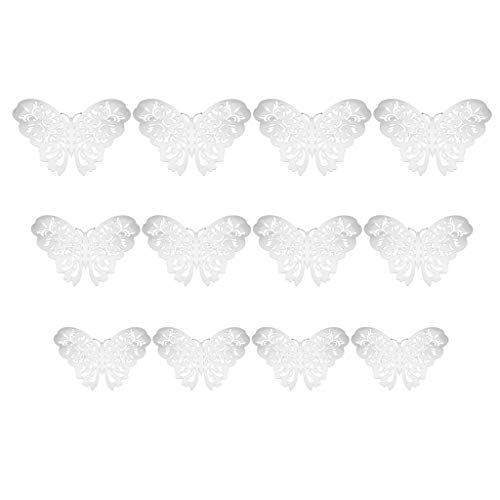 Tantisy ♣↭♣ 3D Butterfly Wall Stickers Decals Home Decor DIY Butterflies Fridge Sticker Room Decoration Party Wedding Decor ()
