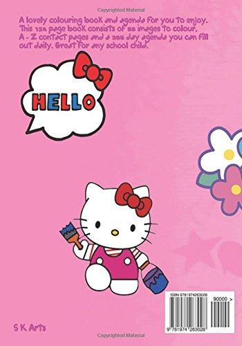 Hello Kitty Agenda & Colouring Book: A lovely colouring book ...