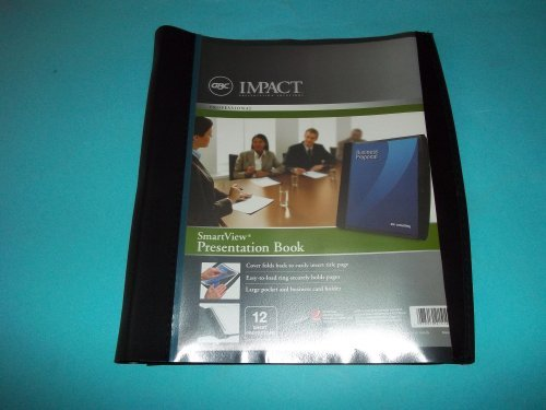 GBC Impact Smartview Presentation Book 8 1/2