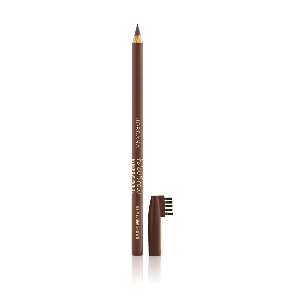 (3 Pack) JORDANA Fabubrow Eyebrow Pencil - Medium Brown