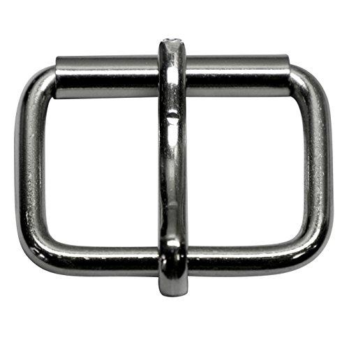 Gürtelschnalle,Schnalle, Spange, aus Stahl, aus 5mm dickem, 40mm, 10 Stücke
