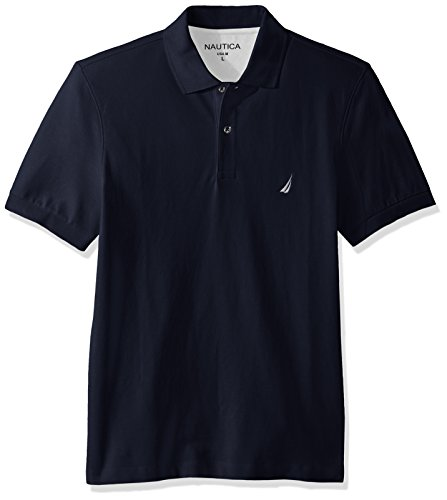nautica-mens-short-sleeve-solid-cotton-pique-polo-shirt-navy-large
